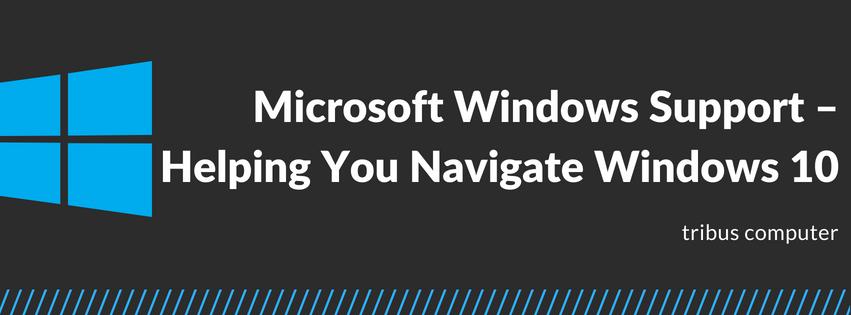 Microsoft Windows Support